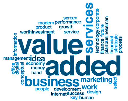 We Put Real Value into Value Added Services